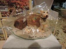 Lowell Davis DONT FORGET ME DOG FIGURINE Schmid 1994  - NEW - Lot of 5