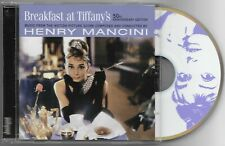 BREAKFAST AT TIFFANY'S Score by Henry Mancini 50th Anniversary Edition CD A+