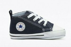 Converse Chuck Taylor First Hi Top Shoe (Infant/Toddler), 88865 Multi Sizes Navy