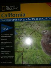 National geographic California topo software