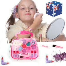 Kids Girl Makeup Set Eco-friendly Cosmetic Pretend Play Kit Princess Xmas Toy AU