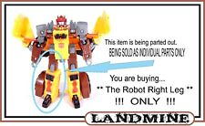 Transformers Cybertron _ DX Class _ Landmine _ Robot Right Leg