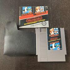 Super Mario Bros. / Duck Hunt with Manual NES Nintendo Entertainment System 2015