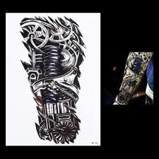 Temporary Tattoo Fake Tattoo  Mechanical Tattoo Roboter  wasserfest (HB-305)