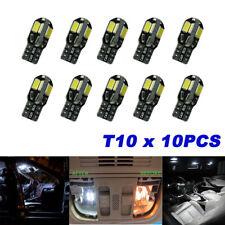 10PCS/SET 8 LED SMD Canbus T10 194 168 W5W 5730 White Car Side Wedge Light Lamp