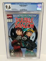 DOUBLE DRAGON #1 (Video Game adaptation) CGC 9.6 NM+ Wht Pgs Marvel Comics 1991