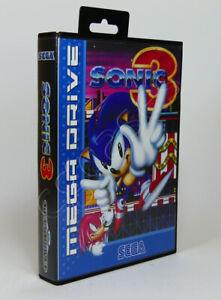 SEGA Mega Drive SMD Game CASE ONLY - Sonic 3