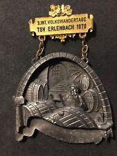 """HUGE GERMAN WINEMAKING 1978 BRONZE MEDAL WINE & GRAPES 6.6 OZS 4"""" X 3 1/4"""""""