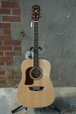 NEW 2020 Washburn Heritage 10 Series HD10SLH Natural Left-Handed Acoustic Guitar