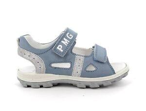 PRIMIGI 7397100 Sandales Chaussures Enfant Cuir en Daim Bleu