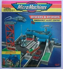 Micro Machines Police Station w/ telescoping helipad - MINT IN SEALED BOX !!!