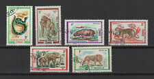 République du Congo 1971 6 timbres oblitérés /T2404