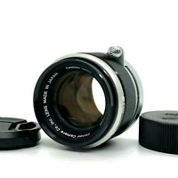 【EXC+++】 Canon 50mm f/1.8 L39 LTM Leica Screw L Mount MF Lens From JAPAN #1101