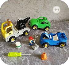Lego Duplo Toolo >> WERKSTATT << Abschlepp-LKW, 2 PKW, Zubehör, Auto - Set