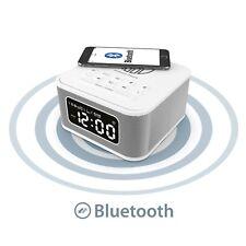 Majority Alarm Clock Wireless QI Charging Speaker iPhone 5 5S 5C 6 6+ 6S 7 7+ 8