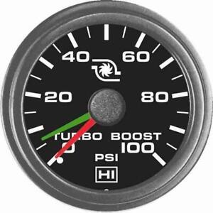 "Hewitt 108-104-1R-1 Universal 2"" Dual 100 Psi Boost Gauge Kit"