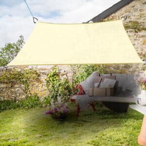 Sonnensegel Quadrat Sonnenschutz Segel Beschattung UV-Schutz Creme 2x2m