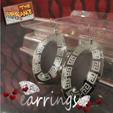 Silver Plated Brass Jewellery hanging dangle earrings