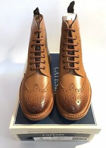 FREE P&P gatesby brouge boot with a leather sole NEW IN STOCK