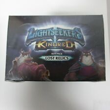 Play Fusion Lightseekers TCG Kindred Rift Pack Lost Relics Booster Box NEW