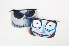 Jack and Sally Nightmare Before Christmas Coin Purse - Cool Travel Disney Wallet