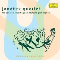 COMPLETE RECORDINGS - JANACEK QUARTET ORIGINAL MASTERS 7 CD NEW! VARIOUS
