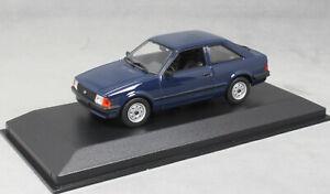 Minichamps Maxichamps Ford Escort MkIII MK3 in Dark Blue 1981 940085000 1/43NEW