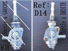 ROBINET essence fuel tap sortie a droite ref D14  groupe electrogene  m10 125