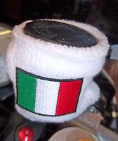 POLSINO in SPUGNA BIANCO per SERBATOIO Olio FRENI MOTO Italiana TRICOLORE ITALIA