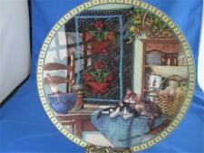 Kitty Cat Plate Quilts and Kitties Lazy Morning Cozy Country Corner