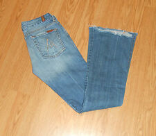 "7 Seven For All Mankind Womens ""A"" Pocket jeans Size 27"