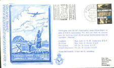 AC17a WWII WW2 1985 Dutch Operation Manna Avro Lancaster flown RAF cover