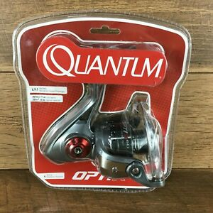 QUANTUM OPTIX SPINNING REEL SZ 60, 4 BEARINGS, 4.9:1 RATIO, BRAID 390/30, MONO 2