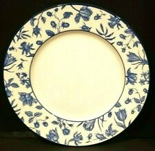 VINTAGE ROYAL STAFFORD EARTHENWARE SPRING GARDEN DINNER PLATE BLUE NWOB
