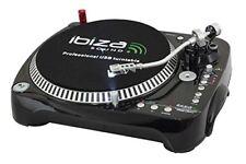 Platines vinyles Ibiza pour équipements audio et vidéo professionnel