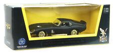 Nouveau: 1965 SHELBY COBRA DAYTONA Coupé Modèle de collection environ 1:43 noir mat article neuf