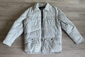 Kirra Jacket Size Medium Men's Down Jacket Snow Winter Light Gray