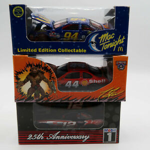 Bill Elliott Max Tonight #94 Tony Stewart Shell #44 Mobil #1 1/64 REVELL Car lot