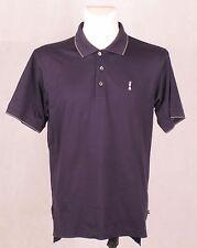 CLARET JUG COLLECTION ADIDAS GOLF Mens Blue T Shirt Polo Short Sleeve M