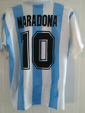 Argentina Maradona World Cup 1994 Home Football Shirt  Medium / 39493 Camiseta