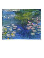 """Water lilies"" paint like .Monet"