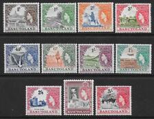 Basutoland 1954-58 set to 10/- (Mint)