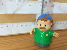 1576 Fisher Price Little People, Spare Figure - Boy Brown hair cap