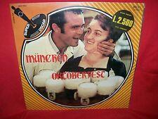MUNCHEN OKTOBERFEST LP 1974 ITALY MINT-