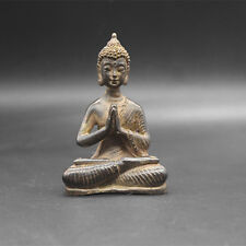 Beautiful Old Tibet Tibetan Bronze Buddhism Buddha statue Exorcism peace wealth