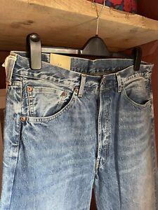 LVC Levis Vintage Clothing 1955 501 501xx Denim Jeans W36 L34 BNWT Cone Mill