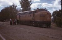 SONORA BAJA CALIFORNIA Railroad Streamliner MEXICALI Mexico 1972 Photo Slide 1