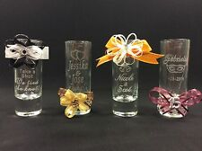 Personalized Shot Glasses - Party Favors - Wedding Favors