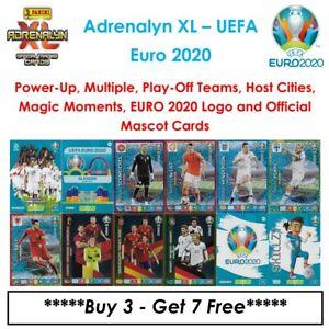 Adrenalyn XL - UEFA Euro 2020: Power-Up, Multiple, Play-Off Teams & Host Cities