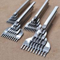 DIY 3/4/5/6mm Leder Handwerk Werkzeuge Loch Meißel Nähte Stanze Handarbeit